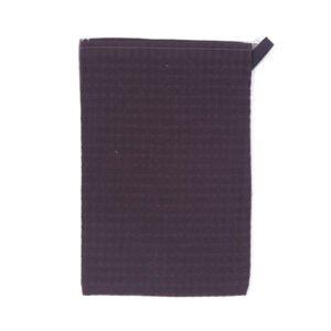 Lot de 3 gants de toilette Gaufrex® unis - Couleur acier
