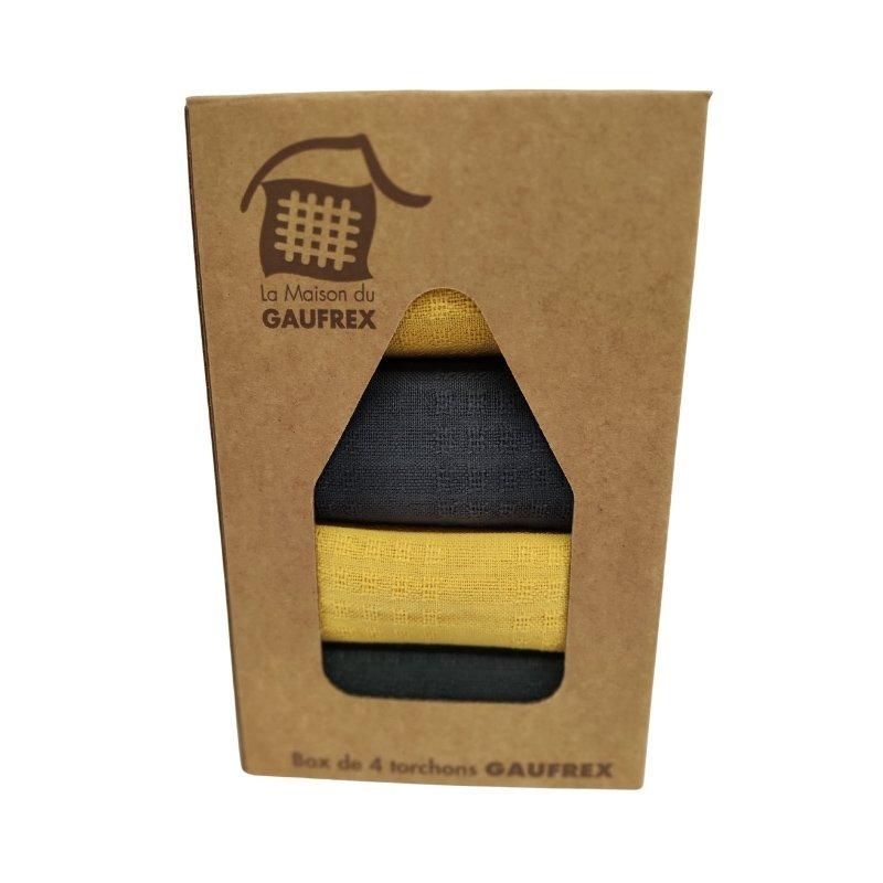 Box Gaufrex Acier Curry unis